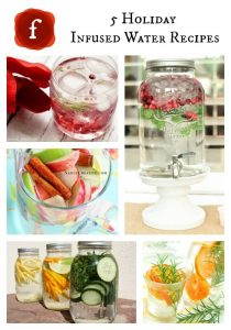 5 HOLIDAY INFUSED WATER RECIPES