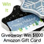 December Giveaway 1000 Amazon Gift Card at Green Thickies