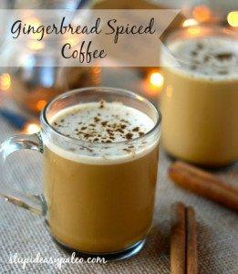 Gingerbread Spiced Bulletproof® Coffee