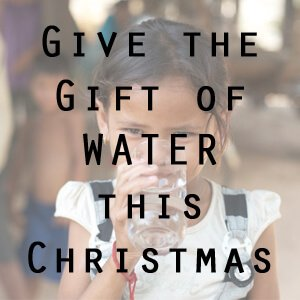 Give the gift of water this Christmas