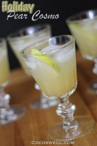 Holiday Pear Cosmo