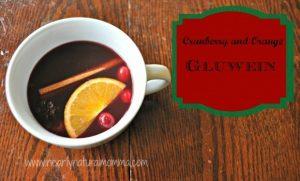 Homemade Cranberry Orange Glüwein