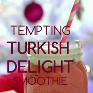Tempting Turkish Delight Smoothie by Green Thickies