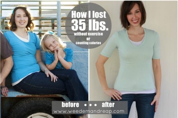 Danelle Wolford from Weedem And Reap Lost 35 Pounds On A Real Food Diet