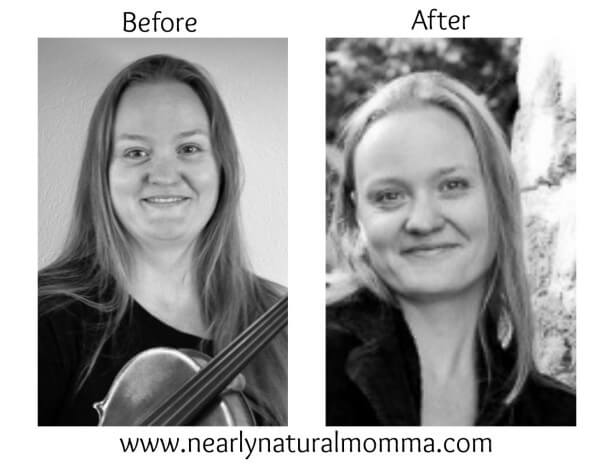 Kim Finnigan from Nearly Natural Momma lost 50 pounds on a Primal Diet
