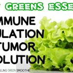 Leafy Greens Essential For Immune Regulation and Tumor Resolution