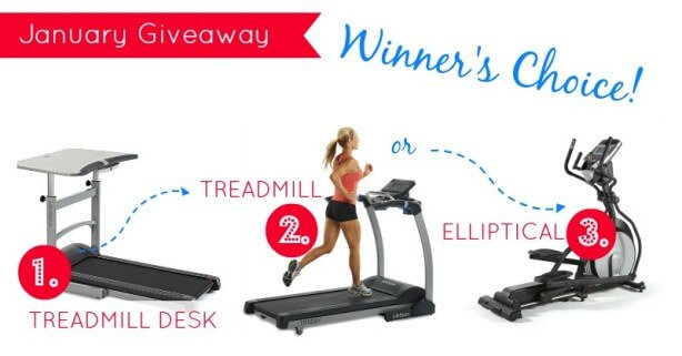 Win a Treadmill worth $1000- January 2014 from Green Thickies