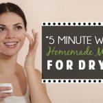 """5 Minute Whip It Up"" Homemade Moisturizer for Dry Skin"