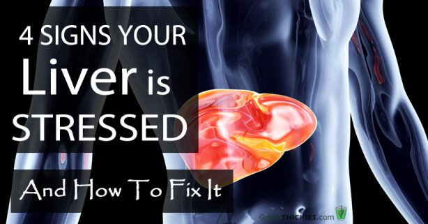 4 Signs Your Liver is STRESSED & How To Fix It