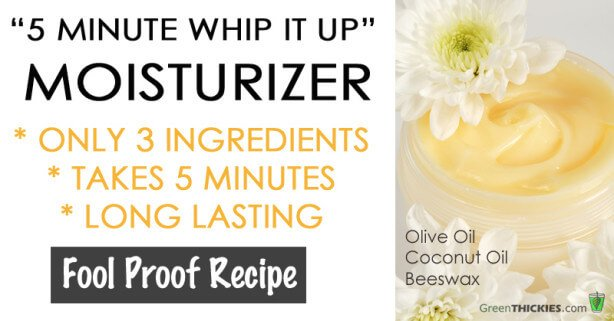 5 Minute Whip It Up Moisturizer