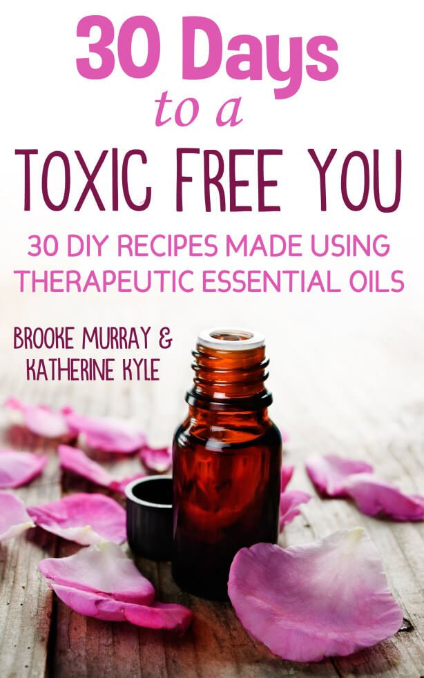 30 Days to a toxic free you recipe book