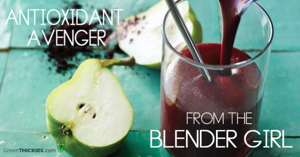 Antioxidant Avenger From The Blender Girl