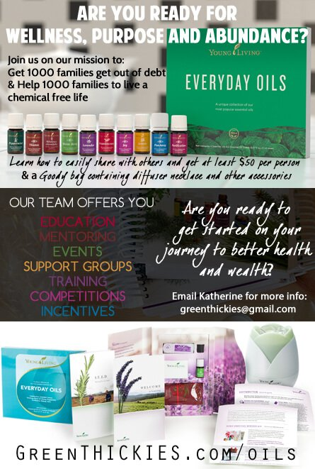 February 2 2015 essential oils incentives Green Thickies