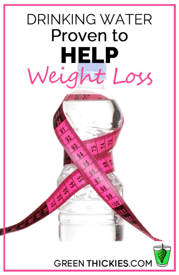 Drinking Water Proven to Help Weight Loss