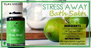 Stress Away Bath Salts Recipe