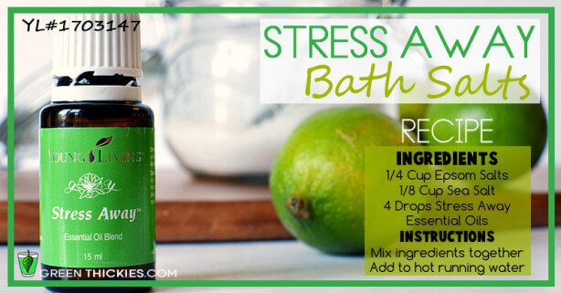 Stress Away Bath Salts Recipe