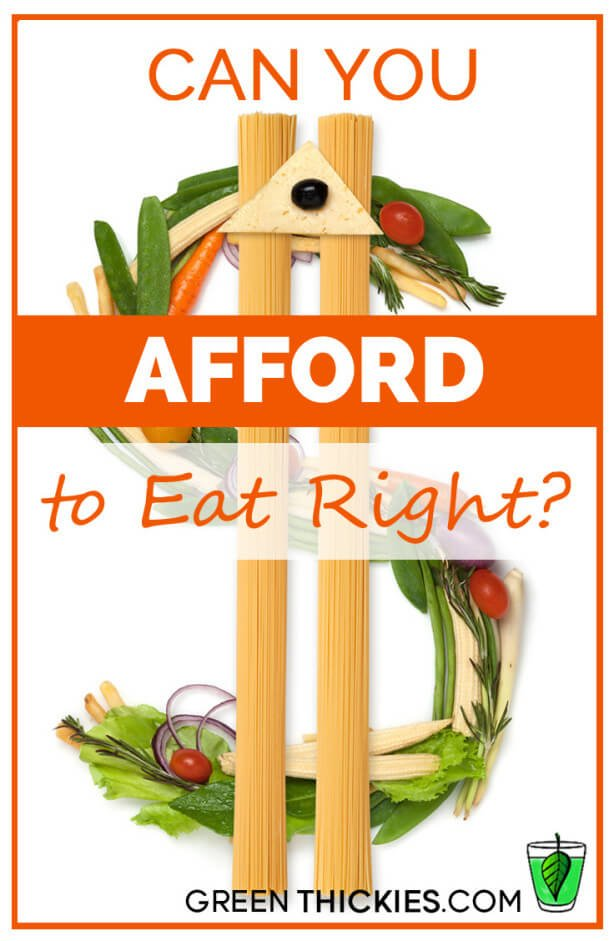 Can You Afford to Eat Right?
