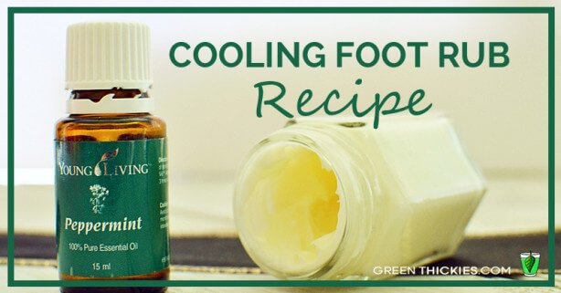 Cooling Foot Rub Recipe