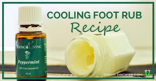 Cooling Foot Rub Recipe