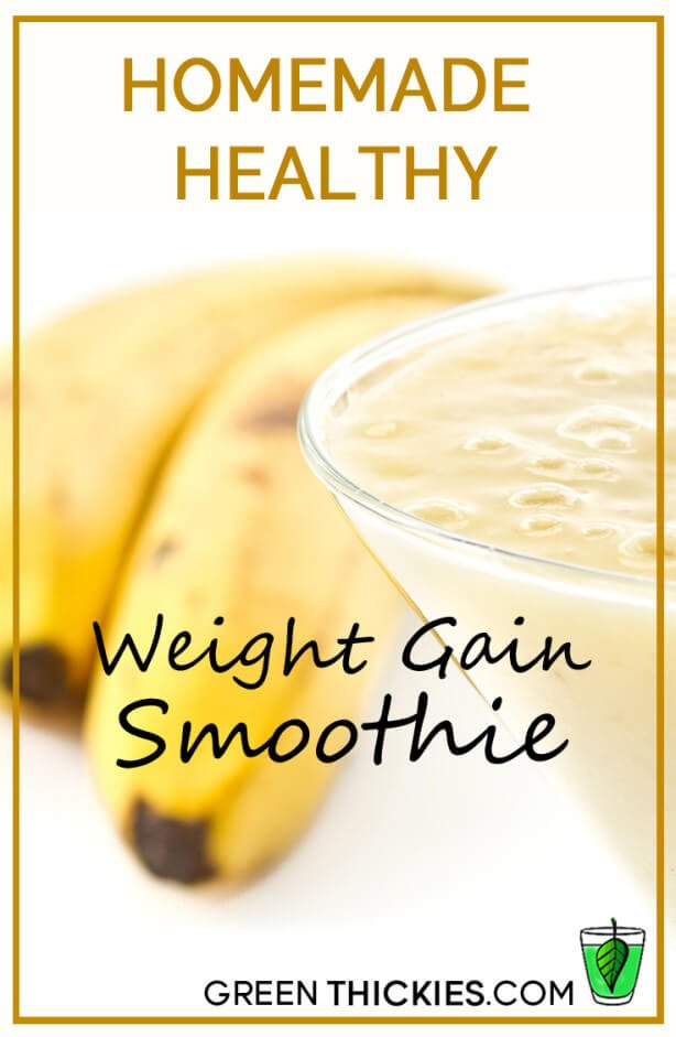 Healthy weight gain smoothie homemade healthy weight gain smoothie forumfinder Choice Image