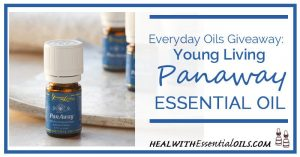 Everyday Oils Giveaway Young Living Panaway Essential Oil