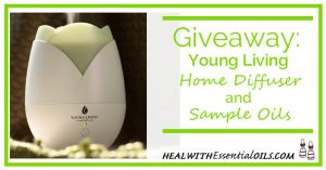 Giveaway Young Living Home Diffuser and Sample Oils