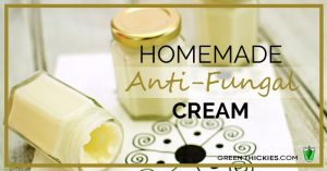 Homemade Anti-Fungal Cream