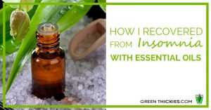 How I recovered from Insomnia with essential oils