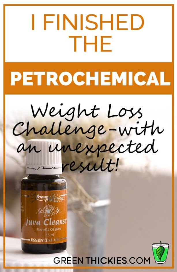 I finished the Petrochemical Weight Loss Challenge - with an unexpected result!