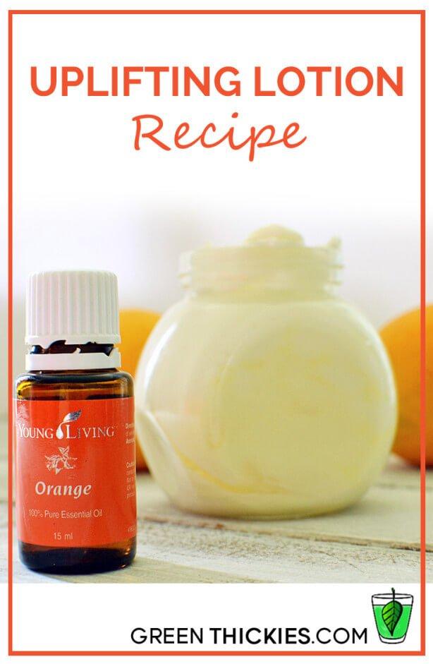 Uplifting Lotion Recipe