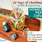DAY 3: 30 DAYS OF CHRISTMAS GIFTS WITH ESSENTIAL OILS: Homemade Reed Diffuser