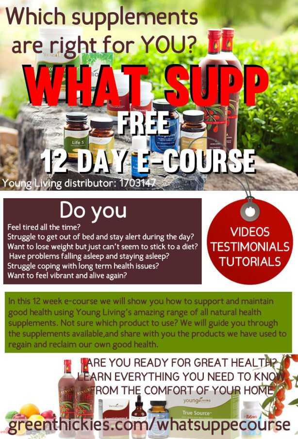 Get this FREE 12 week What Supplement E-Course