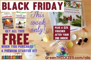 Amazing Black Friday Essential Oils Offer at Green Thickies