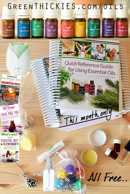 GET ALL THIS FREE in December 2014 essential oils incentives