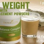 Lose weight with meal replacement powders, balance complete and Power Meal by Young Living - I put them to the test!