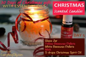 Day 5 Christmas Scented Candles