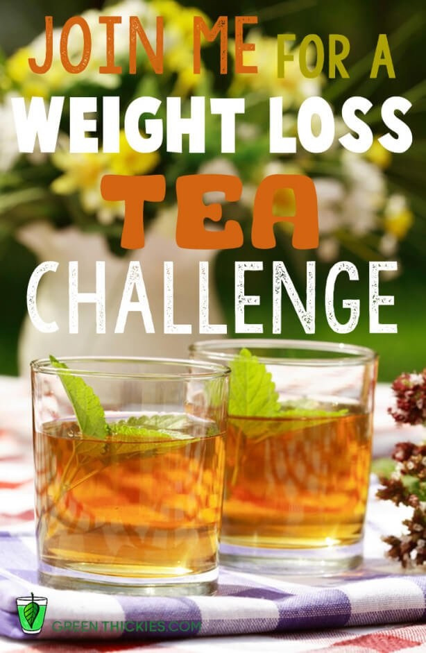 Join me for a weight loss tea challenge