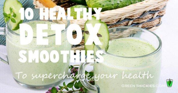 10 healthy detox smoothies