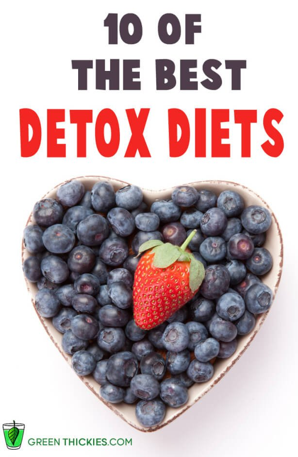 10 of the best free detox diets