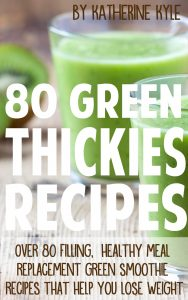 Green Thickies Recipe book