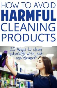 How to avoid harmful cleaning products: 20 Ways to clean naturally with just one cleaner