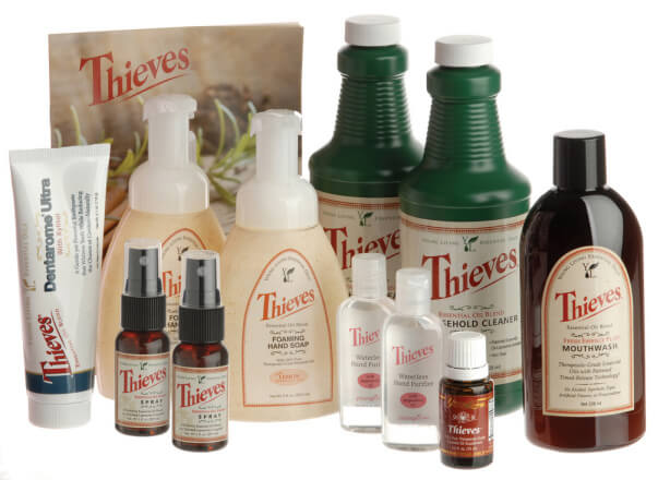 Young Living Thieves natural household cleaner