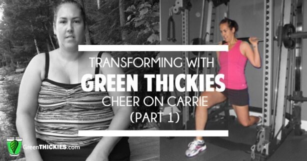 Transforming with Green Thickies cheer on Carrie part 1