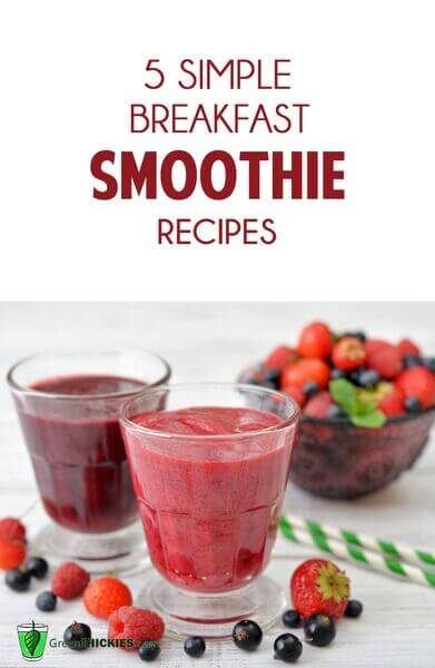5 simple breakfast smoothie recipes