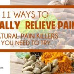 11 ways to naturally relieve pain