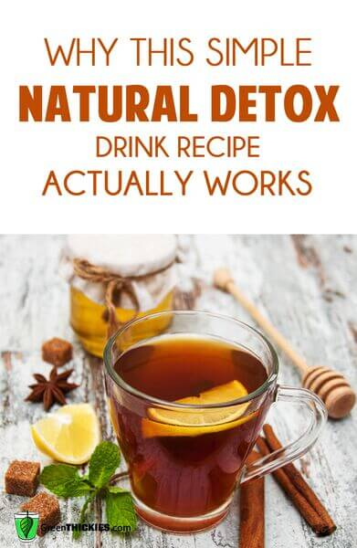 Why this simple natural detox drink recipe actually works