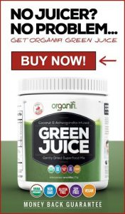 Organic Green powder for green smoothies