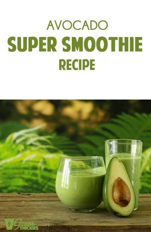 Avocado Super Smoothie Recipe