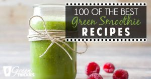 100 best green smoothie recipes