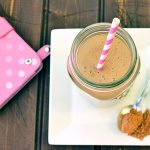 Creamy Low Carb Chocolate and Peanut Butter Smoothie